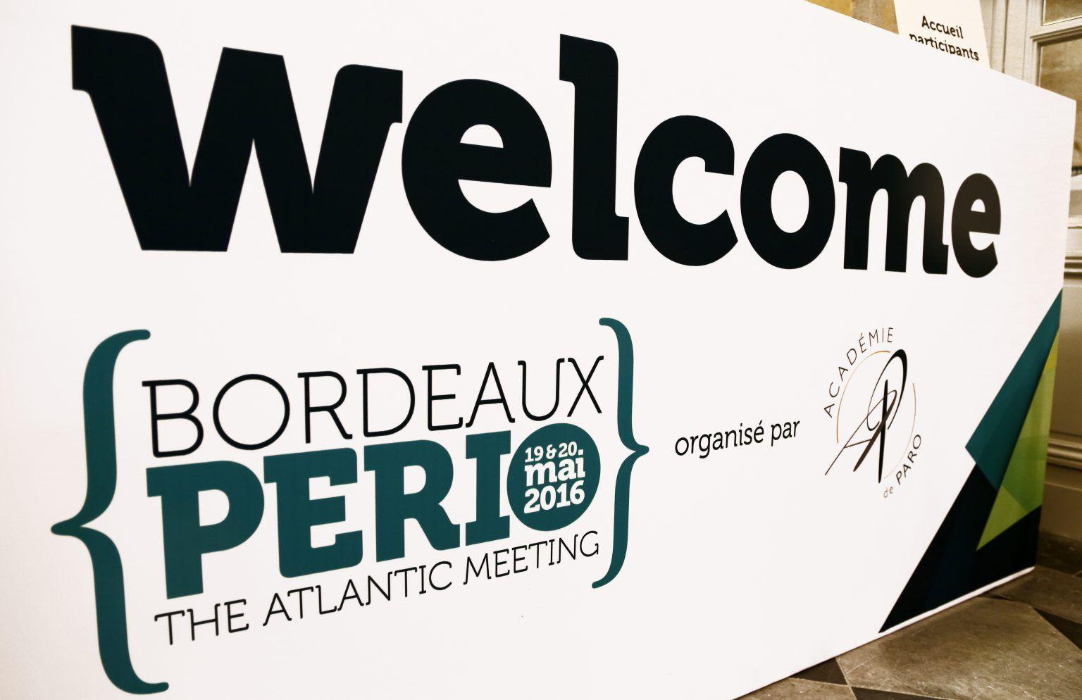 Bordeaux PERIO 2016 (Congrès dentaire)